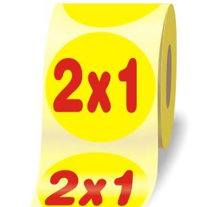 """Etichette Adesive  """"2x1"""""""