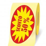 Etichette adesive in bobina Sconto 50% 3d a rotolo online