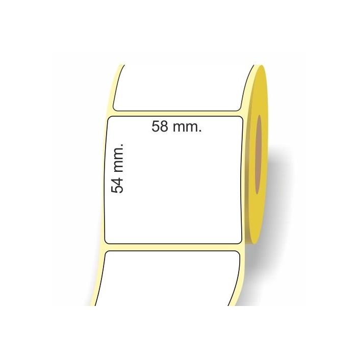 EtichettaTermica 58 x 54 mm.