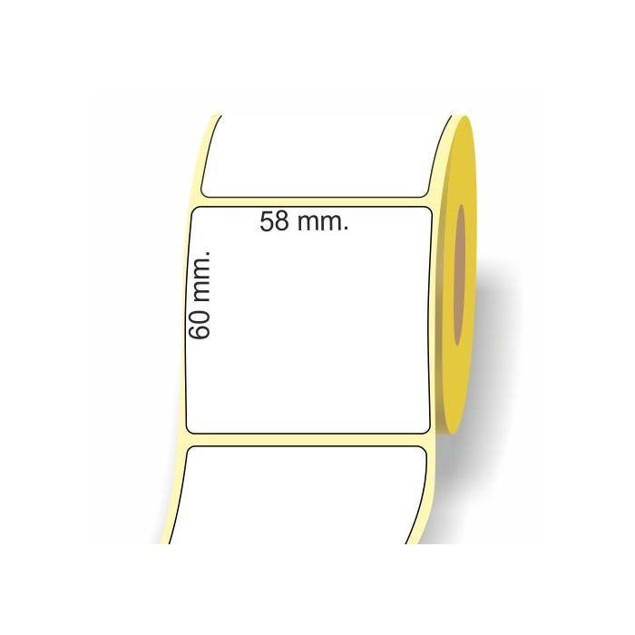 Etichetta Peso Prezzo 58 x 60 mm.