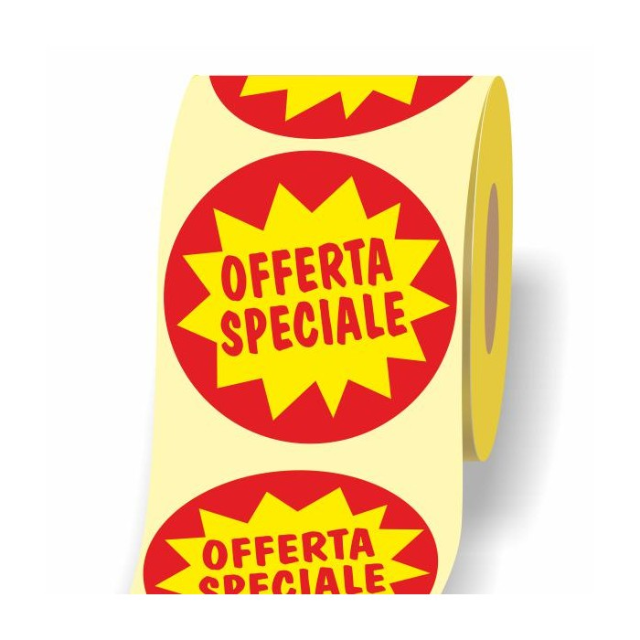Etichetta Offerta Speciale